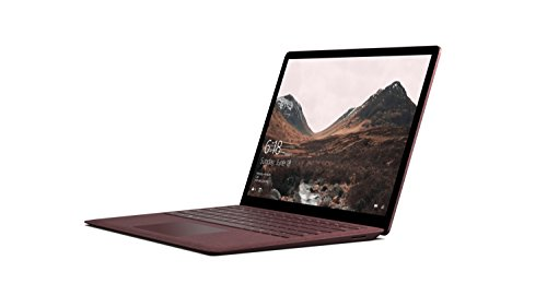 Microsoft Surface Laptop 34,29 cm (13,5 Zoll) Laptop (Intel Core i5, 256GB Festplatte, 8GB RAM, Intel HD Graphics 620, Win 10 S) Bordeaux Rot