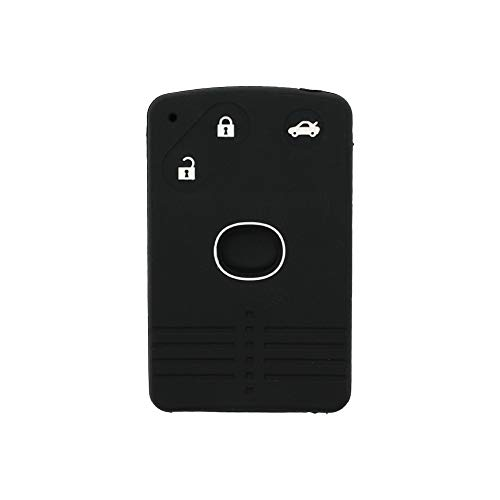 BROVACS - Funda protectora de silicona para Mazda 3 botones con mando a distancia de tarjeta intelig