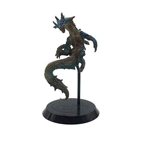 Japonés Monster Hunter Generations World Game Rathalos Lagiacrus Dragon PVC Modelos Figura de acción Decoración Colección Regalo, hailong56