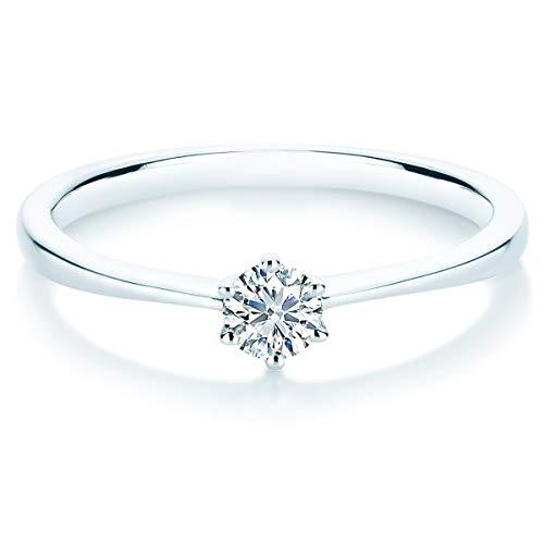 Ring Weißgold Diamant weiß