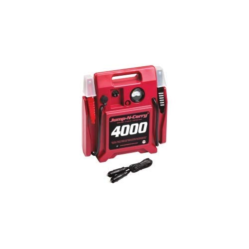 Lowest Prices! 4000-1100 Amps 900 Peak Amp 12 Volt Automotive and Truck Battery Booster/Jump Starter...
