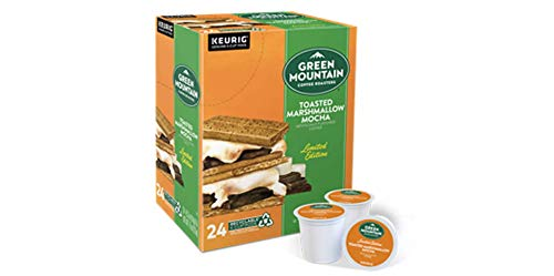 Green Mountain Toasted Marshmallow Mocha Seasonal Selections K-Cups For Keurig Brewers 24 Count