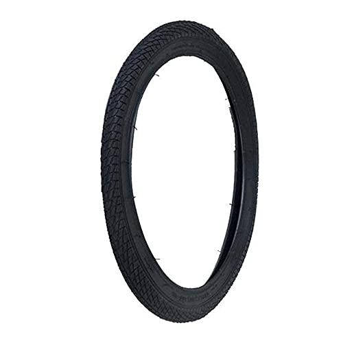 Neumáticos para bicicleta, 20 x 2.125 neumáticos interiores y exteriores, engrosados y resistentes al desgaste, borde de alambre de acero, apto para bicicletas plegables de 20 pulgadas y carro de bebé
