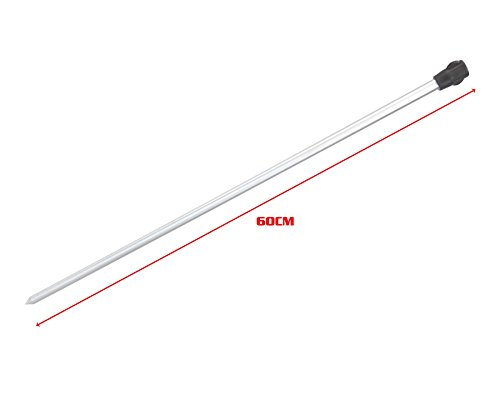 Hunter Pro Bank Stick & Rod Rest Set 2 X Bank Stick, 1 X Adjustable V Rest & 1 X Butt Rest