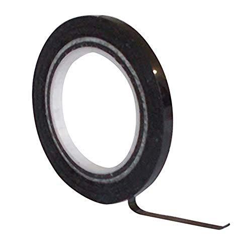Franken S1413 10 Einteilungsband, 3 mm x 10 m, schwarz