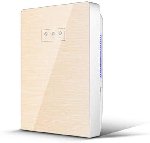 %23 OFF! HUYYA Portable Household Electric Dehumidifier, 323Ft 2200Ml Auto Shut Off Suitable for Bedroom, Bathroom, RV, Basement,Gold