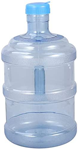 Dulcicasa Jarra de Agua 5L, Botella de Agua Pura, Botella de Agua Mineral para Camping, Senderismo, Deportes al Aire Libre, Botella de plástico portátil con Mango