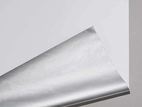 Meradiso Thermo Sonnenschutz Rollos Jalousien ca. 95 x 120 Sicht und Sonnenschutz für den Wohn und Schlafbereich cm (Weiß)