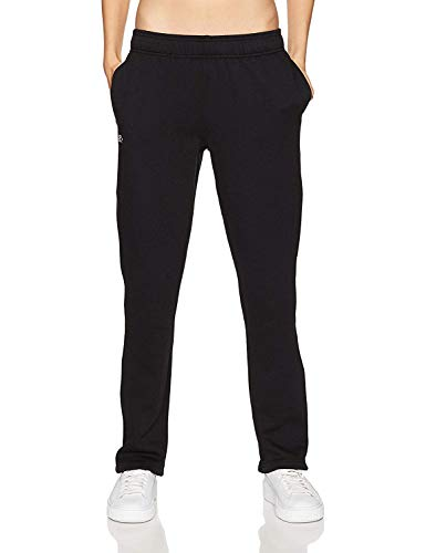 Starter Women's Open-Bottom Sweatpants with Pockets, Amazon Exclusive, Black, Extra Large