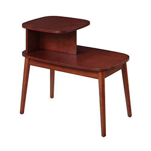 Convenience Concepts Maxwell Mid Century End Table, Mahogany