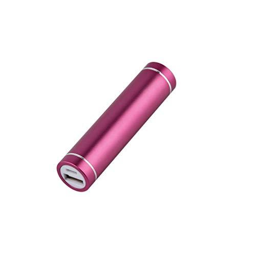 HehiFRlark - Caja de batería para cargador de banco de energía móvil USB portátil para 1 x 18650