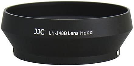 JJC LH-J48B Professional Lens Hood for Olympus 17mm 1.8 Black Zuiko Lenses Replaces Olympus LH-48B