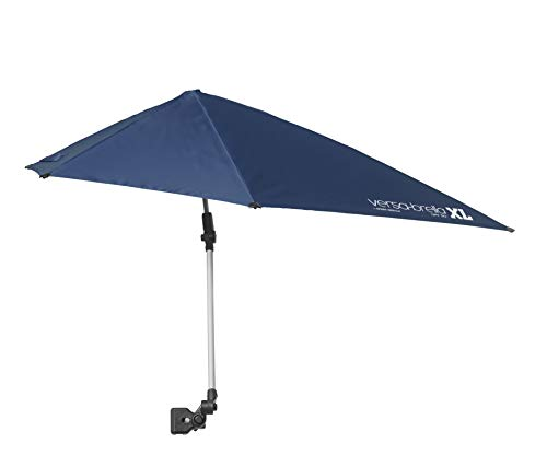 Sport-Brella Versa-Brella XL (Midnight Blue) - All Position Umbrella with Universal Clamp, Midnight Blue