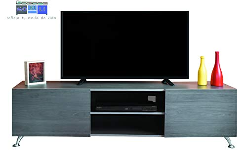 Hogare Centro De Entretenimiento Italy, Mueble para TV, Moderno Y Funcional
