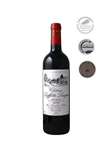 CHATEAU LAFFITTE LAUJAC 2015 Grand Vin Rouge de Bordeaux Médoc Cru Bourgeois en 1932 Médaille d'Argent Concours Général Agricole de Paris et Bordeaux