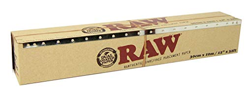 RAW Unrefined Parchment Paper Roll