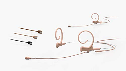 DPA 4188 CORE Slim Directional Flex Headset Mikrofon mit MicroDot Anschluss – Mittellang, Beige