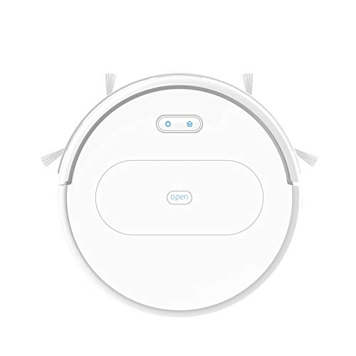Robot Vacuum Cleaner,Deep Cleaning, Remote Control Operation, Self-Charging,Multiple Cleaning Modes Vacuum Best for Pet Hairs, Hard Floor & Medium Carpet,White