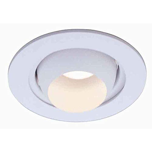 Commercial Electric 4 in. White Eyeball Trim