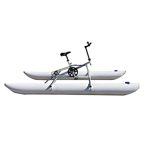 HXXXIN Bicicleta Acuática Individual Doble Triple Vehículo Recreativo Acuático Kayak Inflable En El Lago Deportes Acuáticos Excursión Kayak Mar Pedal Ciclismo