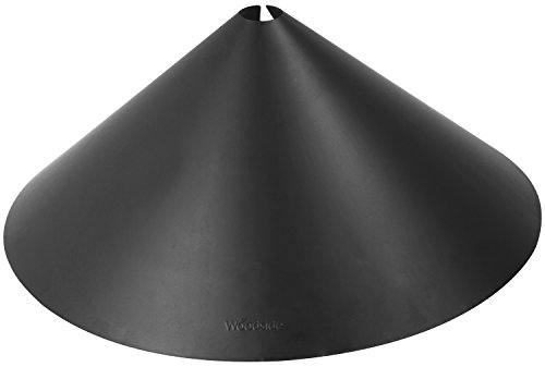 """Woodside Universal 18"""" Squirrel Baffle Dome Wild Bird Hanging/Pole Station Feeder Guard Protection"""