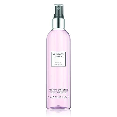Vera Wang Embrace Body Mist for Women Rose Buds and Vanilla Scent 8 Fl Oz Body Mist Spray Romantic,...