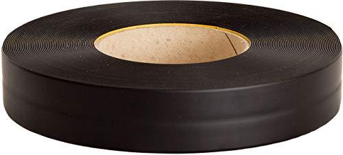 Knickwinkel PVC schwarz 25m, Winkelleiste Weich-PVC MS013 Küchenabschlussleiste selbstklebend