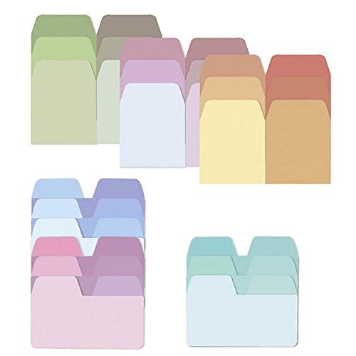 HENGBIRD 360 Blatt Sticky Pastell Farbige Haftnotizen Bunte Klebezettel und Haftnotizzettel für Büro und Studenten