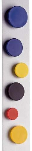 ORION gutsmiedl Produkte-Magnet 34 mm diametro rosso