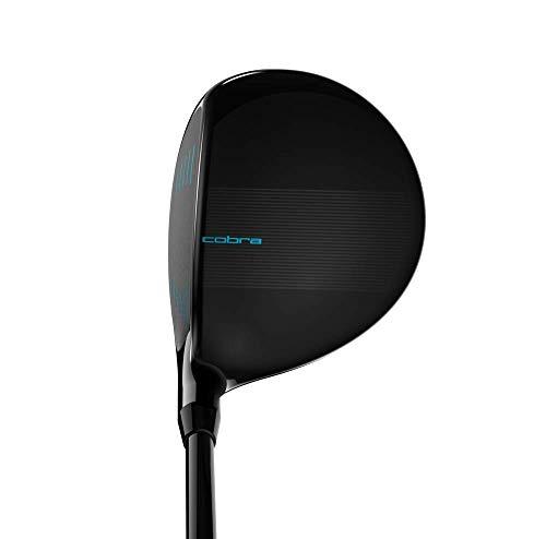 Cobra Golf 2019 F-Max Superlite Fairway 3 Wood Black-Lexi Blue (Womens, Right Hand, Graphite, Ladies Flex, 19.0)