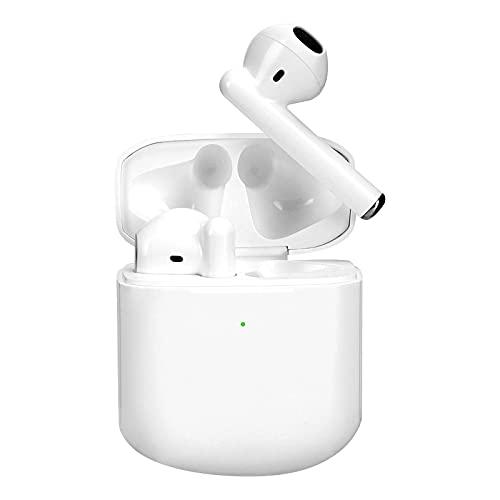 Cuffie Wireless Bluetooth 5.0,Auricolari con IPX5 Impermeabile,Earbuds In-ear Controllati Al Tocco,Cuffiette che Possono Durare per 8 Ore,Cuffie con Microfono Incorporato per iPhone/Android/Xiaomi