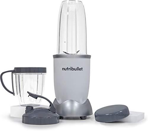 NutriBullet Pro 900 W – Juego de extractor de 9 piezas – 25.000 rpm – Extractor de nutrientes – Smoothie Maker – Exclusivo color: Blancanieves/SSnow White