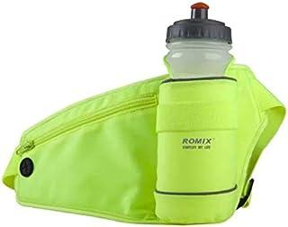 حقيبة وسط متعددة الاستخدامات لكلا الجنسين، بتصميم مثالي لممارسة الرياضة في الخارج، وتاتي بجيوب لقارورة المياه والهاتف النقال