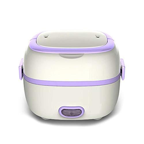 DAMAI Fiambrera Eléctrica Comida Térmico Lunch Box Fiambreras Bento Bandeja Extraíble Acero Inoxidable Recipiente De Comida Térmico
