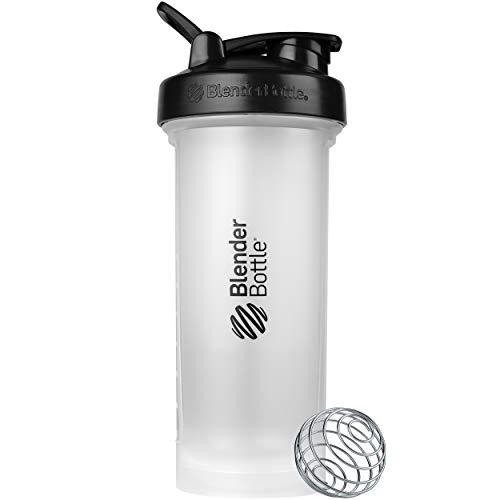 BlenderBottle C04436 Classic V2 Shaker Bottle, 45-Ounce, Clear/Black