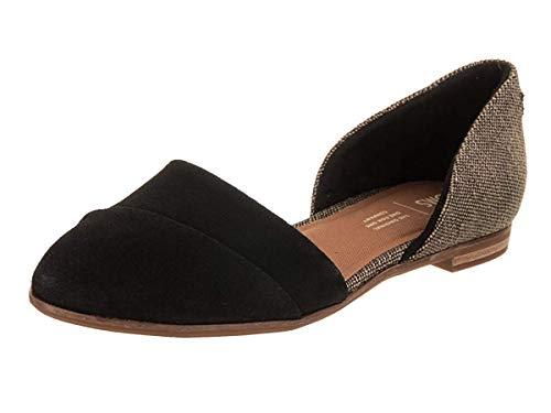 TOMS Damen 10012457 Sneakers, Schwarz (Black 001), 38 EU