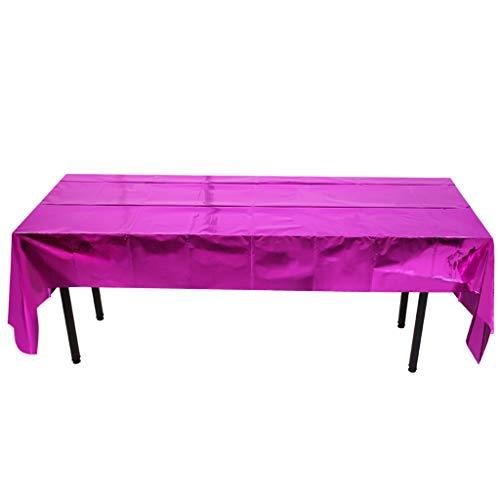 Smonke Einweg Tischdecke helle Tischschutz Hause Weihnachtsszene Wachstuch Entworfen Bedruckten Stoff Aluminiumfolie Tischdecke Dekoration Weg kreatives Abendessen