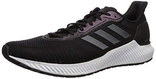 adidas Men's Solar Ride Running Shoe, Black/Night Metallic/White, 9.5 M US