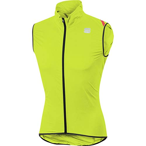 Sportful Hombre Hot Pack 6Chaleco, Color Yellow Fluo, tamaño Extra-Large