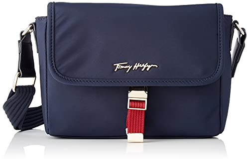 Tommy Hilfiger Relaxed Tommy, Crossovers para Mujer, Blue, Medium