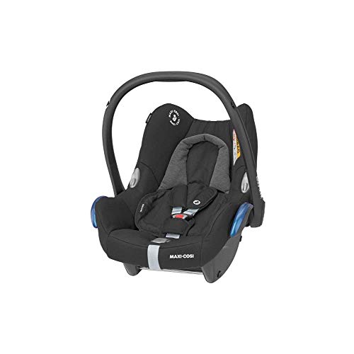 Maxi-Cosi CabrioFix Baby Car Seat, Group 0+, ISOFIX, Suitable from Birth, 0-12 Months, 0-13 kg, Essential Black