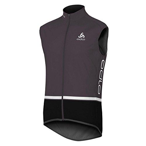 Odlo de Cyclisme Gilet pour SOULOR Logic L Graphite Grey-Black