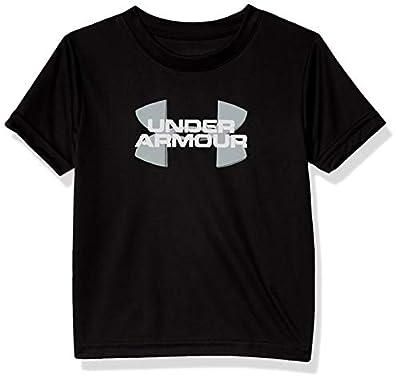 Under Armour Boys' Toddler Fashion Ss Tee Shirt, Black-SP203, 4T