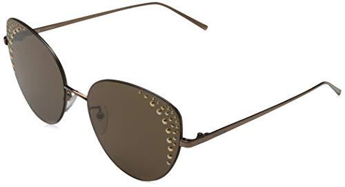 Furla Damen SFU180590R80 Sonnenbrille, Total Shiny Bronze, 59/17/140