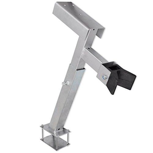 Festnight Stahl Windenstand Windenbock Kapazität von 500-1000 kg für Bootsanhänger