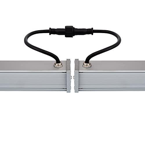 LEDKIA LIGHTING Bañador de Pared LED 18W IP65 1000mm Blanco Cálido 2800K - 3200K