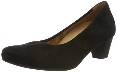 Gabor Shoes Damen Comfort Basic Pumps, Schwarz (Schwarz 47), 40.5 EU