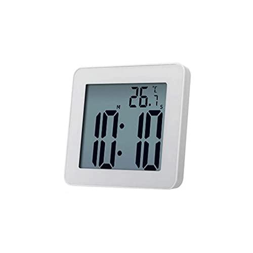 Kfhfhsdgsanz Despertador, Reloj de Pared a Prueba de Agua Cronógrafo Temporizador Reloj de Reloj de Reloj Despertador