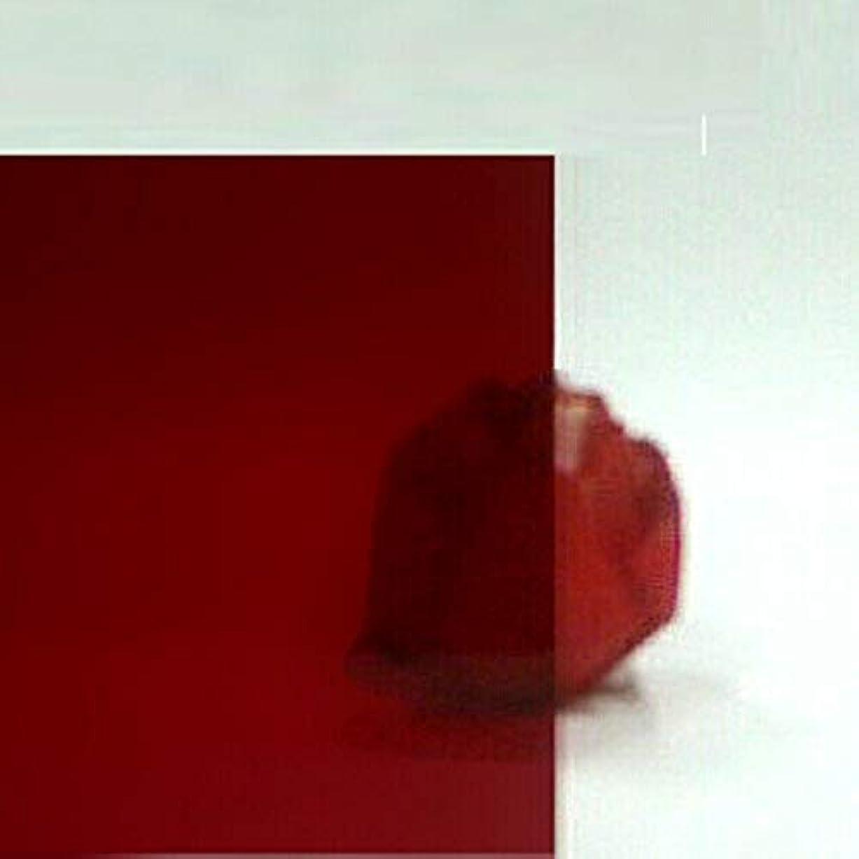 周囲広大な使用法日本製 クラレックス アクリル板 レッド(精密セルキャストノングレア板) 厚み1mm 1000X1000mm No.1 N-030全光線透過率7%(業務用の為?個人名宛発送はできません?カット?キャンセル返品不可)