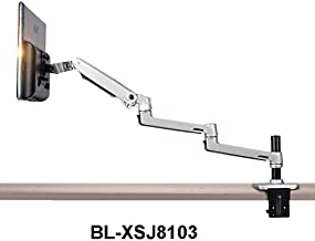 XSJ8013C Aluminum Alloy Ultra Long Arm LED LCD Monitor Holder Table Clamping Full Motion Monitor Mount Support